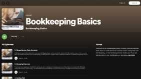 Listen to my bookkeeping Basics podcast!