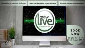 I will be going live at 11am on Thursday morning at Grow Live!