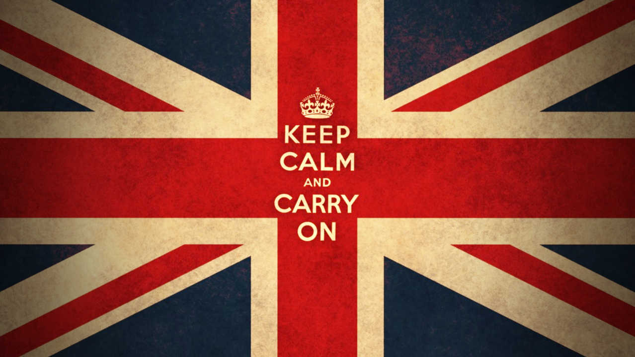 Keep calm and carry on marketing!